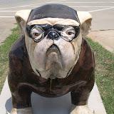 UGA Bulldog Statues