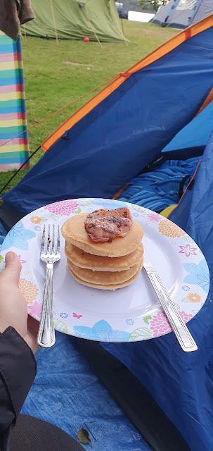 The Serial Adventurer, Camping, Cooking, Loch Lomond, Scotland