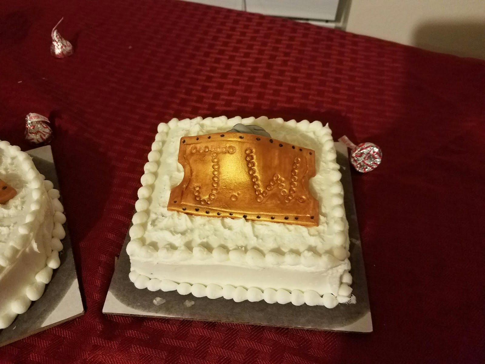 Admirable Cakes By Meg 2 Polar Express 1St Birthday Cake Funny Birthday Cards Online Elaedamsfinfo