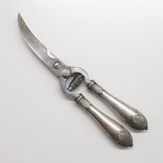Sterling Handled Kitchen Shears