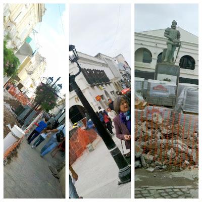 Remodelación de la peatonal Alberdi de Salta Capital.