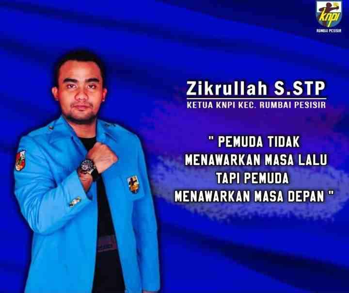PK KNPI Rumbai Pesisir Dukung Dinas Perhubungan Untuk Penarikan Retribusi Parkir di Ritel.