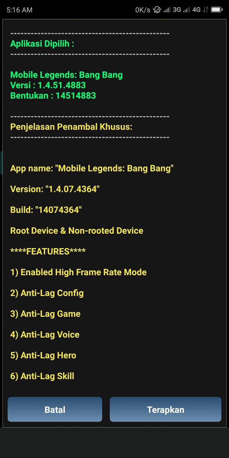 Cara Mengatasi Lag Mobile Legends Mode HFR