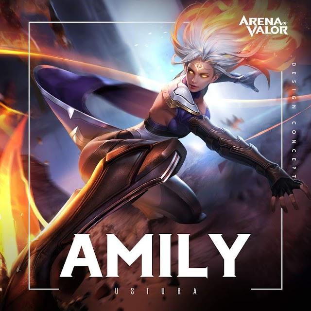 Yeni Kahraman: Amily - Arena of Valor