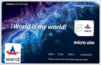 Warid MicroSIM [new generation of SIM cards for future devices]