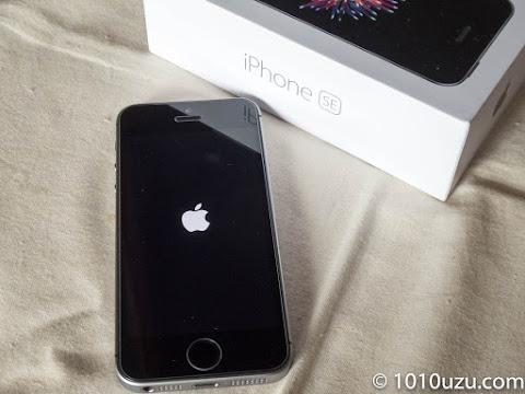 中古で購入したiPhone SE