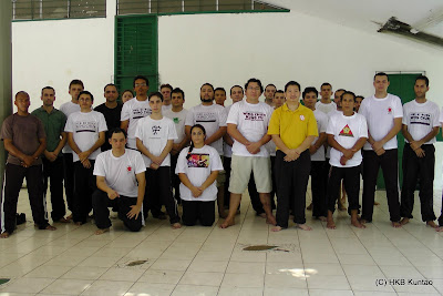 HKB Kuntao in Brazil, South America  - Wing Chun Orange County