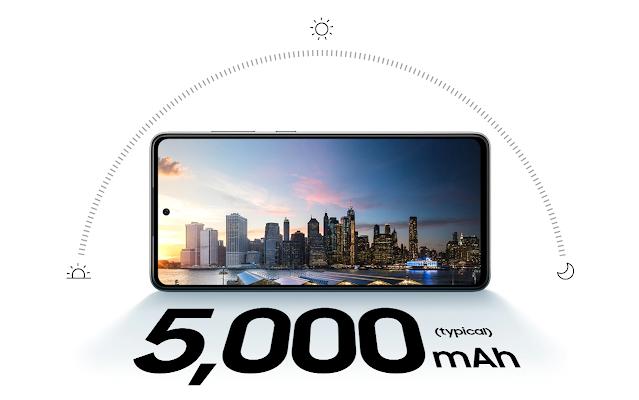 baterai 5000 mah galaxy a72