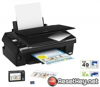 Reset Epson ME-510 Waste Ink Counter overflow problem