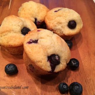 Blueberry Muffins No Baking Powder Recipes.