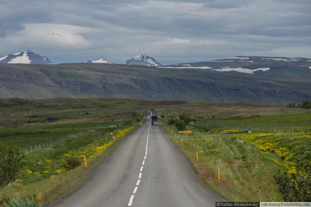 Исландская дорога - Icelandic road