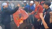 Bendera PDIP Dibakar, Polisi Sebut Belum Punya Dasar untuk Pemeriksaan
