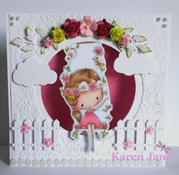 Karen - kinetic card