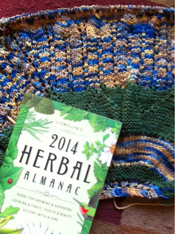 Follow Your Arrow MKAL Shawl and Herbal Almanac