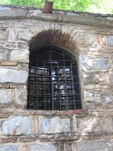 Window of the House of Mother Mary, Turkey