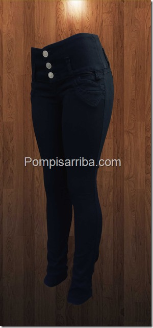 Jeans Negro pinzas