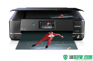 How to reset flashing lights for Epson XP-960 printer