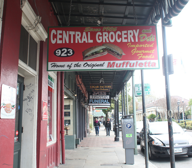 Muffuletta from Central Grocery