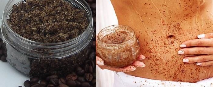 Purely Homemade Coffee Cinnamon Body Scrub !