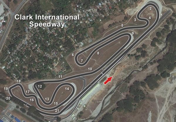 toyota vios cup racing school at clark international