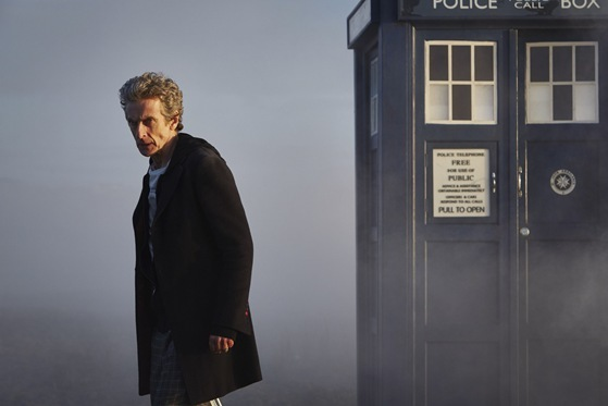 Peter Capaldi is Doctor Who in The Witch's Familiar