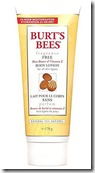 Burts Bees Fragrance Free Body Lotion