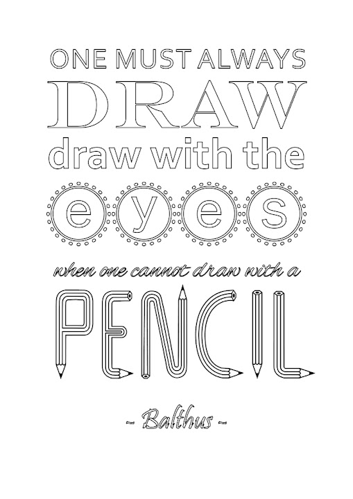 Creativity Unmasked: Free Drawing Day Printable Quotations / Art ...