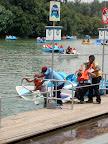 Shipwreck in Mexico City Lake