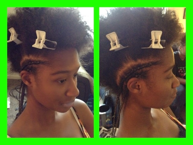 Desire My Natural Doing Her Hair Series Cornrowflat Braid With