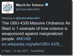 MarchforScienceISIS