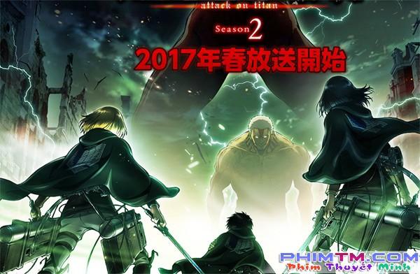 Xem Phim Shingeki No Kyojin 2 - Attack On Titan Season 2 - phimtm.com - Ảnh 1