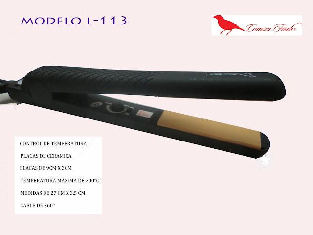 Alaciadora Modelo 113