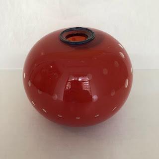 Fernando Loftus Signed Art Glass Vase