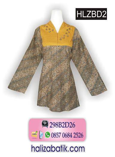 grosir batik pekalongan, Baju Batik Wanita, Baju Muslim Batik, Gambar Baju Batik