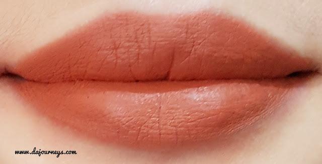 [Review] Face2Face Cosmetics Xoxo Lipstick Matte Carrot Cake