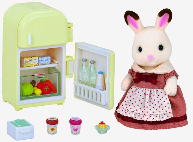Bộ thỏ nâu mẹ và chiếc tủ lạnh