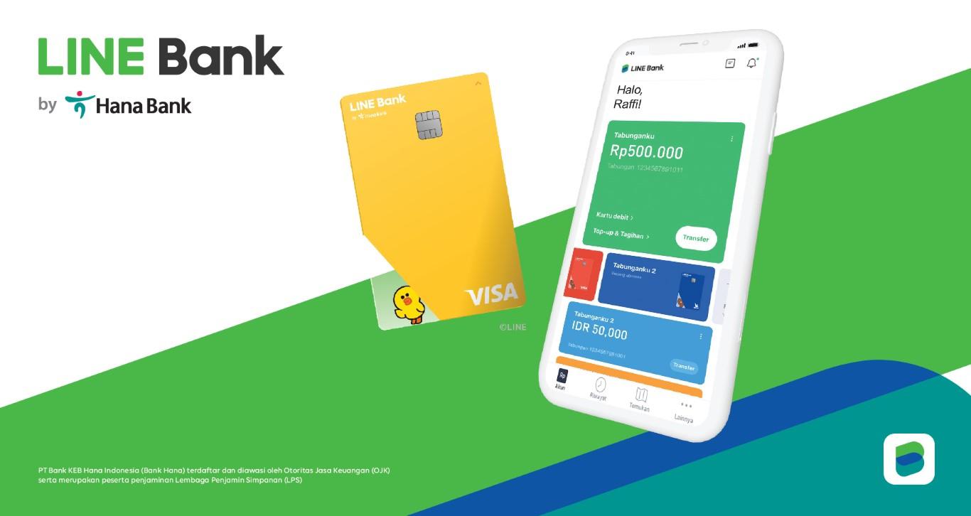 LINE จับมือ ธนาคาร PT Bank KEB Hana Indonesia เปิดตัว LINE BANK บุกตลาดอินโดนีเชีย