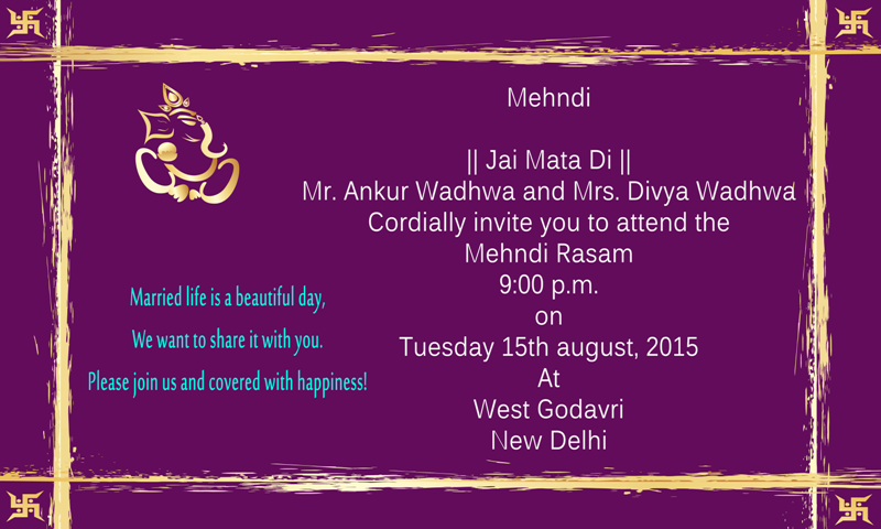 Formal Wedding Invitations Card Pictures With Names