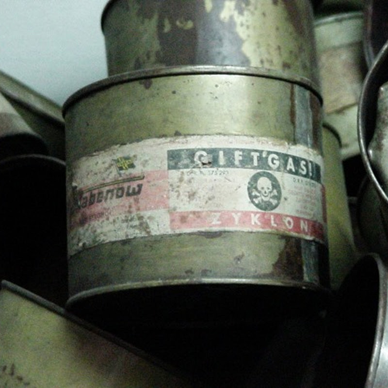 L'Olocausto allo scanner: lo Zyklone e le camere di disinfestazione tedesche.