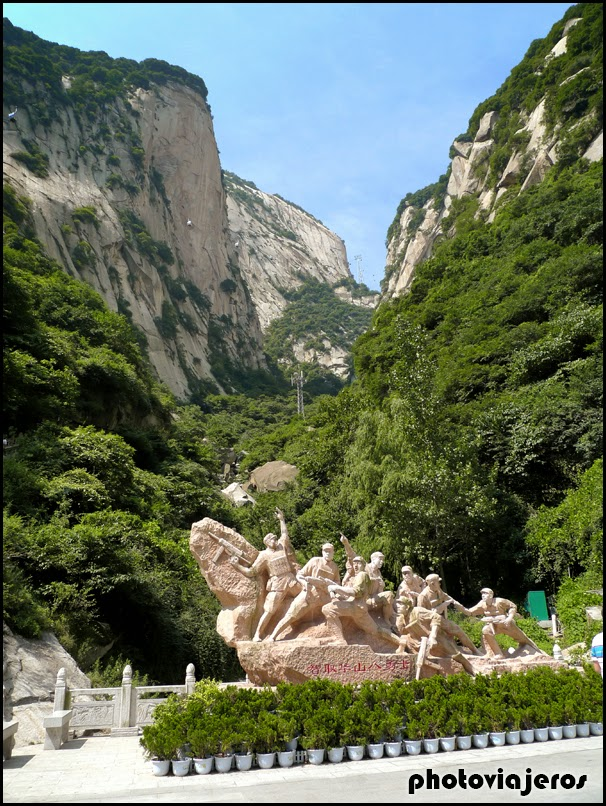 Montaña sagrada de Huashan