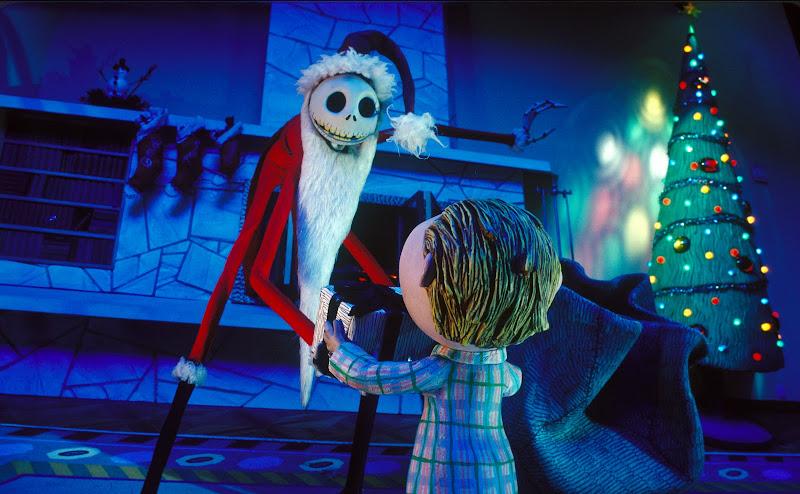 Tanti sfondi dei cartoni animati in stile natalizio
