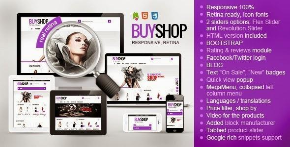 Plantilla BuyShop prestashop