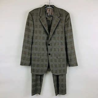 Prada Check Suit