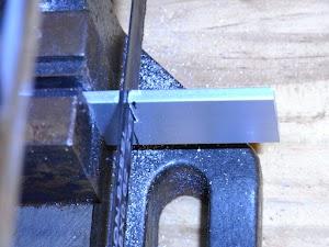 アルミ板の切断
