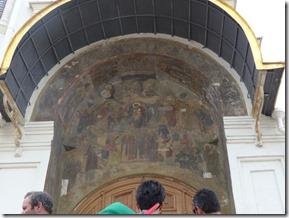 cathedrale de l'annonciation fresue portail entrée