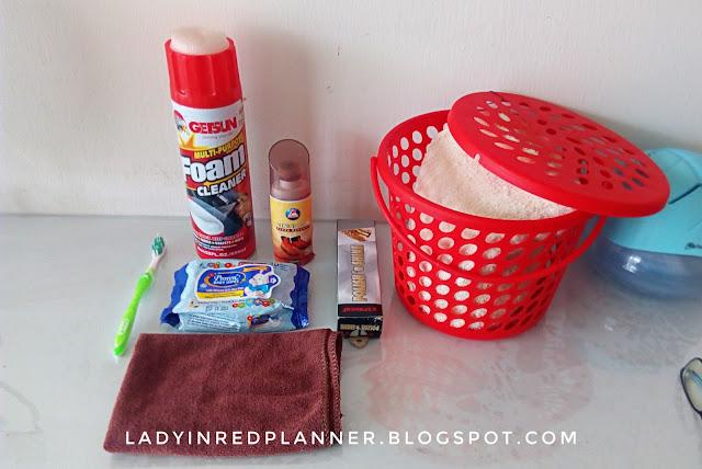 Cara membersihkan Bag