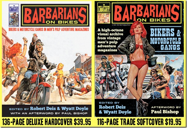 - BARBARIANS ON BIKES covers