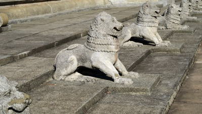 Lions at Independance Hall