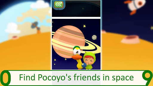 Pocoyo 1, 2, 3 Space Adventure: Discover the Stars apkpoly screenshots 5