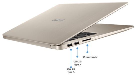 Port sisi kiri Asus VivoBook S15 S510UQ